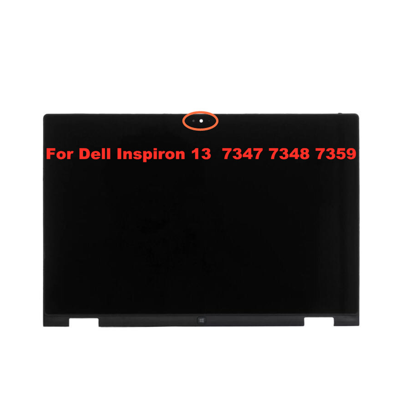 For Dell Inspiron 13 7000 7347 7348 7359 P57G LTN133HL03-201 LP133WH2 SPB1 LCD Touch Screen LED Touch Digitizer Assembly+Bezel