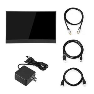 "Image 5 - EYOYO EM15R 15.6 ""FHD 1920x1080 휴대용 모니터 LCD 화면 노트북 PC 용 초박형 슬림 좁은 베젤 L 형 바디 디스플레이"