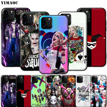 YIMAOC étui souple en Silicone pour iPhone 11 Pro XS Max XR X 8 7 6 6S Plus 5 5S SE(China)