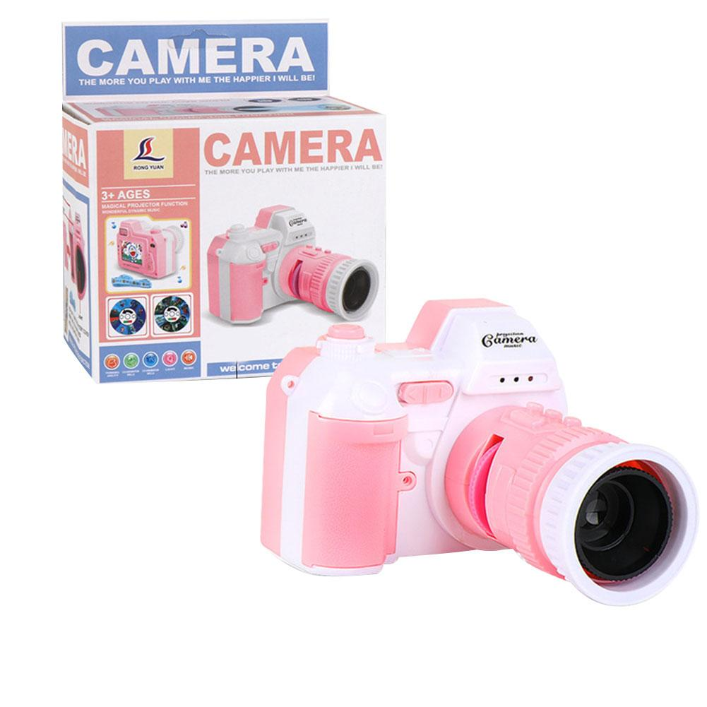 Children's Camera With Light Music Camera Toy Sound And Light Projection Camera Can Be Used As Flashlight Educational Toy Camera