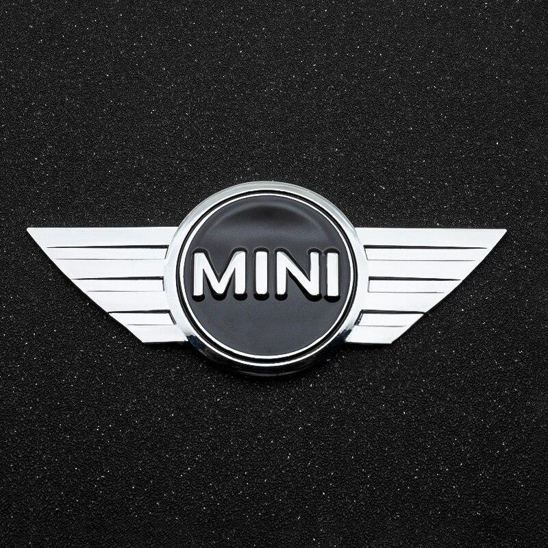 3D металлическая наклейка на автомобиль хромированная эмблема бейдж наклейка для BMW Mini Cooper One S JCW R55 R56 R60 F55 F56 Countryman Авто украшения