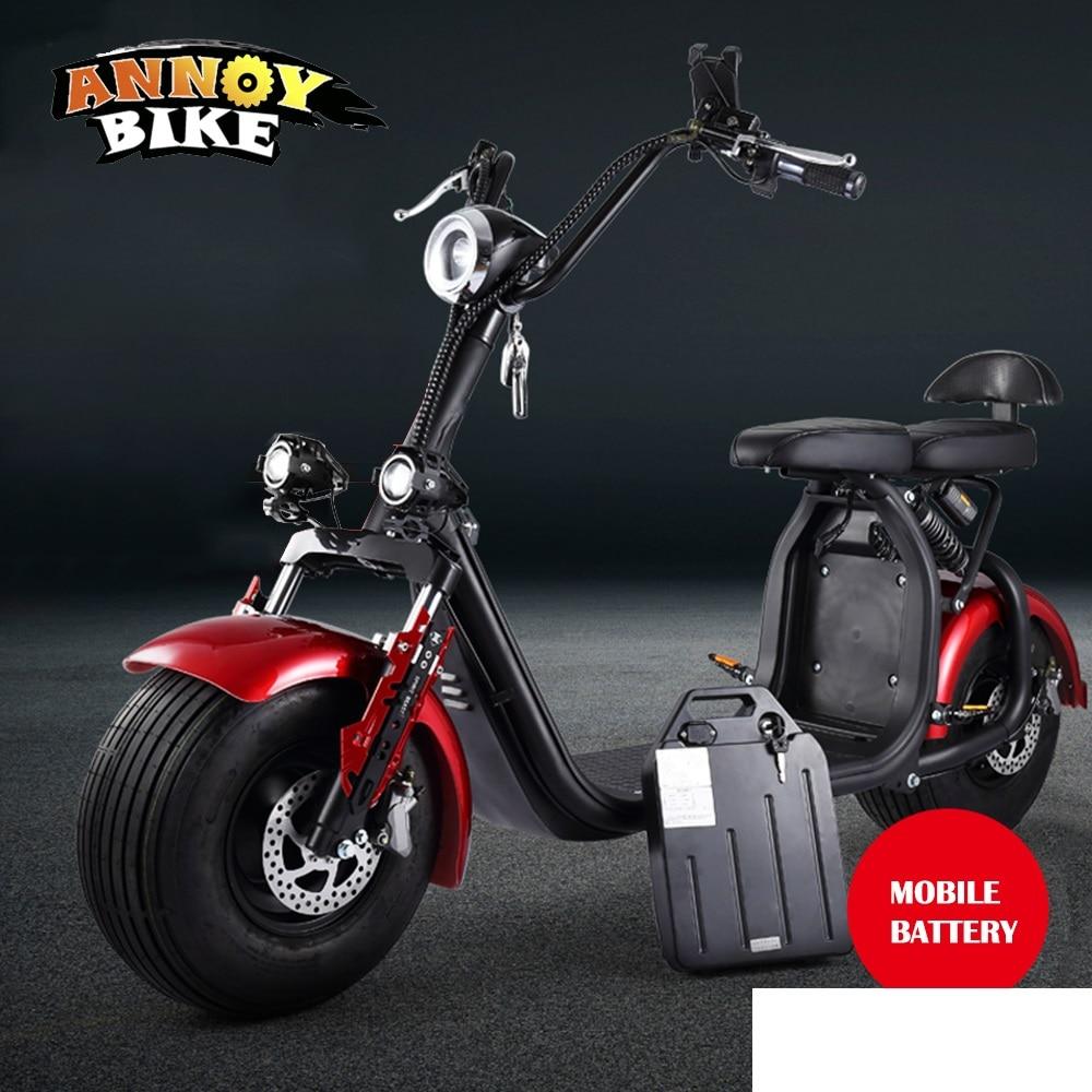 18 zoll Erweitern Scooter Drive Motor Rad 2000W 60V 72V Hub Motor Elektrische Motorrad Citycoco Roller Elektrische fahrrad Motor Rad - 5
