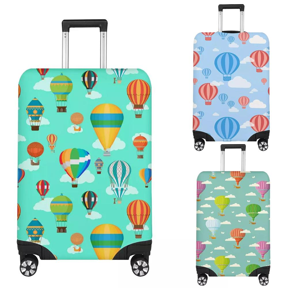 Twoheartsgirl Turkey Hot Air Balloon Luggage Protective Dust Cover For Travel Waterproof 18''-32'' Suitcase Cover Baggage Covers