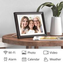 Digital-Photo-Frame Display Touch-Screen Photos Dragon-Touch LED App HD Classic10-Wifi