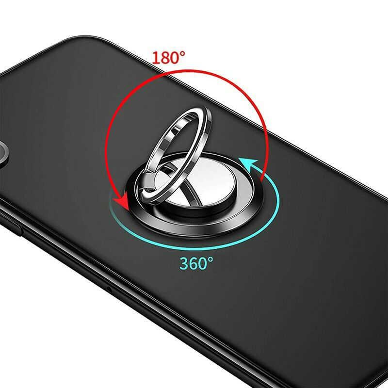 Livraison directe universelle 360 anneau de doigt support de téléphone magnétique support pour téléphone portable support magnétique voiture poignée en métal pour IPhone Samsung