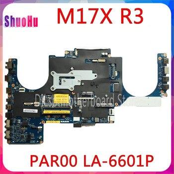 KEFU PAR00 LA-6601P placa base para DELL Alienware M17X R3 PC portátil...
