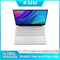 KUU 15.6Inch For Intel i5 5257U 3.10GHz Gaming laptop 256GB SSD IPS Screen Keyboard Backlight Fingerprint Unlock game Notebook