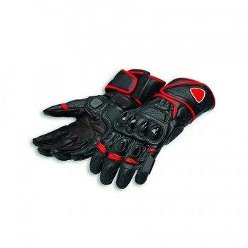 Genuine Leather Speed Evo C1 For Ducati Motorcycle Gloves Racing Gloves Driving Motorbike Gloves Original Cowhide Gloves