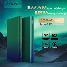 Power-Bank External-Battery Fast-Charging iPhone Xiaomi Rechargeable 10000mah for 12