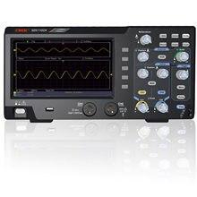 Osciloscópio digital de 2 canais osciloscópio 110mhz largura de banda 1gs/s alta precisão oscilógrafo sds1102