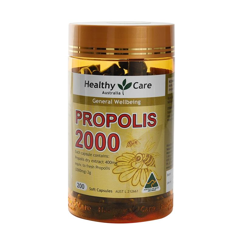 Free Shipping Healthy Care Propolis 2000 Mg 200 Pcs