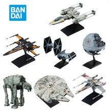 Bandai star wars galaxy império destruidor x-wing starfighter executivo em-em montagem modelo de brinquedo decoração presente