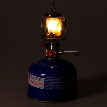 Mini Gas Lamp Outdoor Camping Lantern Tent Lamp Torch Hanging Glass Lamp Mini Camping  Portable Gas Light Camping Equipment 5