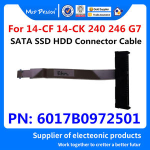 Nuevo SATA SSD HDD conector de Cable para disco duro Cable para HP 14-CF 14-CK0066ST 14-CK0082TU 14-CK 240 246 G7 PN: 6017B0972501 70MM