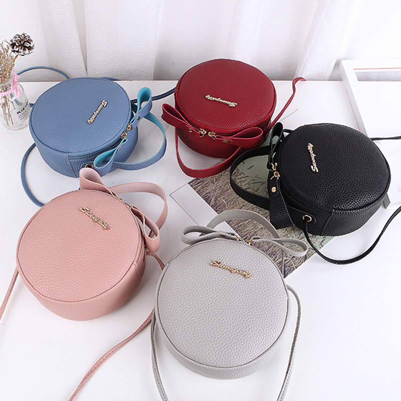 Fashion Women Handbag Messenger Bags PU Leather Shoulder Bag Lady Crossbody Mini Bag With Small Fresh Cute Diagonal Bag Bolsa