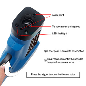 Image 5 - Digital Infrared Thermometer Single/Double laser Non Contact Temperature Meter Pyrometer  50~400/550/750/1100/1300/1600