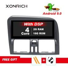 8,8 pulgadas RAM 2G Android 9 auto Radio estéreo para Volvo XC60 2009-2015 navegación GPS estéreo Bluetooth DVR Carplay táctil completa