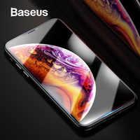 Protecteur d'écran Baseus pour iPhone Xs Max Xs XR verre 0.3mm mince 9H verre trempé pour iPhone Xs Max X verre de protection 2018