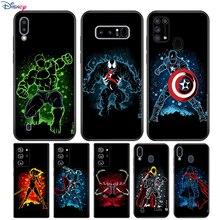 Marvel Superhero For Samsung Galaxy Note 20 10 9 8 Plus Ultra Lite M31 M31S M10 M20 M02 M30 M40 Soft Phone Case