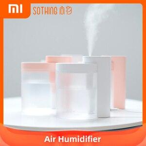 Xiaomi Youpin SOTHING domowy wyciszenie nawilżacz powietrza 260ML ultradźwiękowy nawilżacz powietrza oczyszczający nawilżacz USB ładowanie