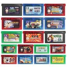 32 Bit Video oyunu kartuşu konsolu kart Ninja Cop için ab versiyonu Nintendo GBA