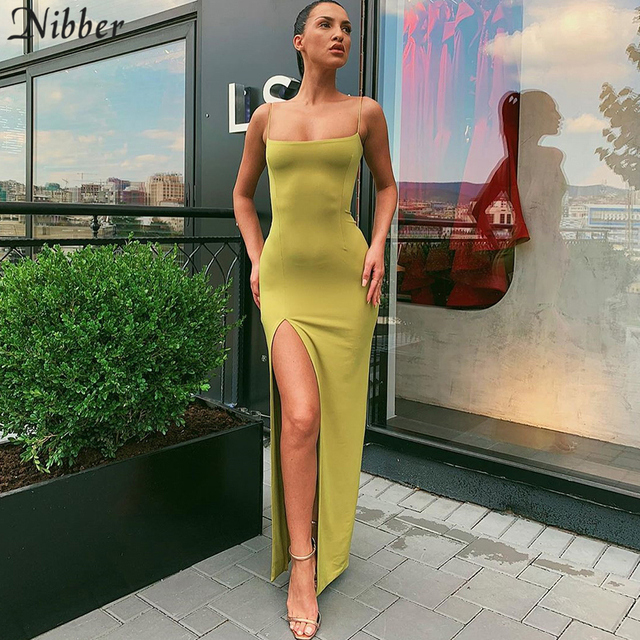 Nibber red black New year christmas party long dresses women 2020 spring new bodycon lace up stretch Slim Soft midi dress femme 5