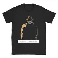 Camiseta de algodón para hombre, prenda de vestir, con estampado de Rorschach In The Shadows Watchmen, Smiley, Dr, Brooklyn, Novel Heroes, novedad
