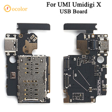 ocolor For Umidigi X USB Board For Umidigi X Replacement Parts USB Plug Charge Board High Quality Phone Accessories