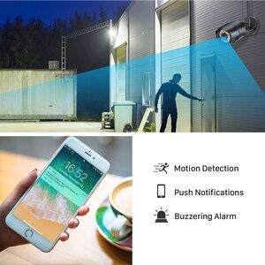 Image 4 - BESDER1080P IP kamera Wifi IR gece görüş SD kart kablosuz kamera 2MP ses kayıt Bullet Onvif CCTV açık Video gözetim