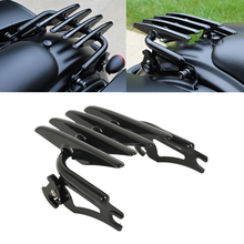 Motorcycle Detachable Stealth Luggage Rack For Harley Road King Street Glide Electra Ultra Classic Custom 2009-2019