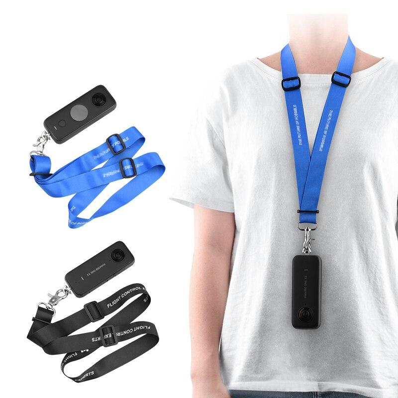 Cuerda portátil para Insta360 ONE X2, correa de muñeca antipérdida, cuerda para el cuello, cuerda de mano para Insta360 ONE X, accesorios para cámara panorámica