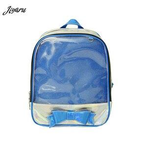 Image 1 - Sale 2020 New Ita Bag 여성용 Clear Backpack 여성용 투명 배낭 Lovely Teenage Girls 배낭 Lolita Bag Ita Bag