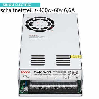 Schaltnetzteil s-400w-60v 6,6 eine einstellbare spannung, geeignet für RD6006 (12V24V ac dc netzteil)