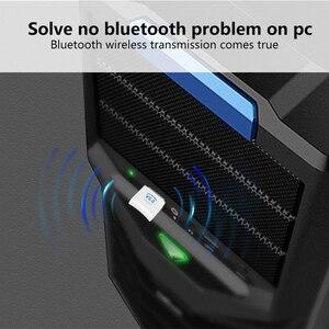 Image 4 - USB بلوتوث دونجل محول V5.0 ل جهاز كمبيوتر شخصي محمول اللاسلكية الموسيقى مكبر صوت سماعة استقبال الارسال Transmisor