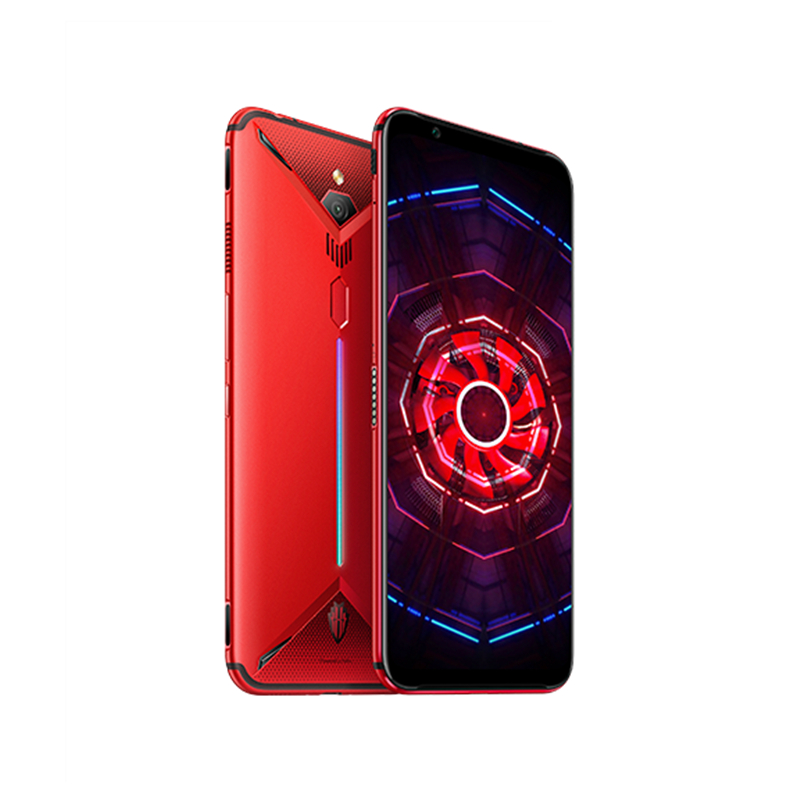 "Image 5 - EU Version Nubia Red Magic 3 Mobile phone 6.65"" Snapdragon 855 Fingerprint Front 48MP Rear 16MP 8GB 128GB 5000mAh Game PhoneCellphones   -"