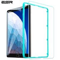 Protetor de tela esr para ipad pro 10.5/ipad ar 3 2019 vidro anti risco 9 h temperado película protetora de vidro para ipad pro 10.5|screen protector for ipad|screen protector|ipad pro glass protector -