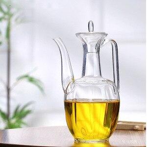 Креативный прозрачный нагреваемый стеклянный чайник с антипесочным стеклом, чайный чайник с италликой, термостойкий стеклянный чайник, ча...