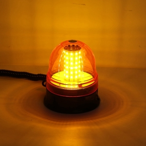 Image 5 - 12V 24V netic Roof 60 LED Rotating Flashing Beacon Light Flexible Warning Light Emergency Lamp Tractor Truck SUV Boat