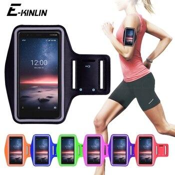 Перейти на Алиэкспресс и купить Чехол для телефона для бега в тренажерном зале для занятий велоспортом и спортом для Nokia 2 3 V 3,1 A C C1 C2 Tava Tennen C5 Endi