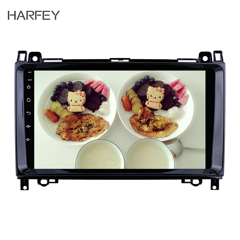 Harfey 2 Din <font><b>GPS</b></font> Car Multimedia Player Android 8.1 Autoradio For <font><b>Mercedes</b></font> Benz B W245 B150 B160 B170 <font><b>B180</b></font> B200 B55 2004-2012 image