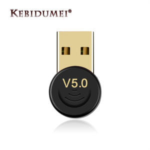 Kebidumei Wireless USB Bluetooth Adapter Dongle USB Bluetooth 5.0 Music Audio Transmitter Receiver Adapter For Computer PC