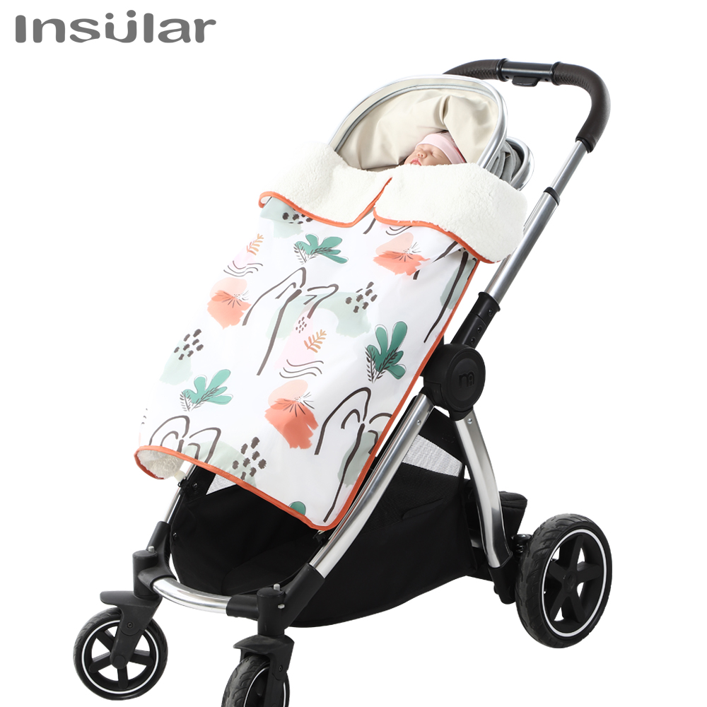 Insular Baby Blankets Newborn Stroller  Blankets Sleeping Cover Waterproof Super Soft Kids Bath Towel Newborns Swaddle Blanket