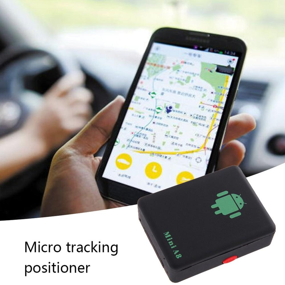 Mini A8 Gps Tracker Locator Car Kid Global Tracking Device Anti-Theft Outdoor Gps Tracker Long Stand-By Life image
