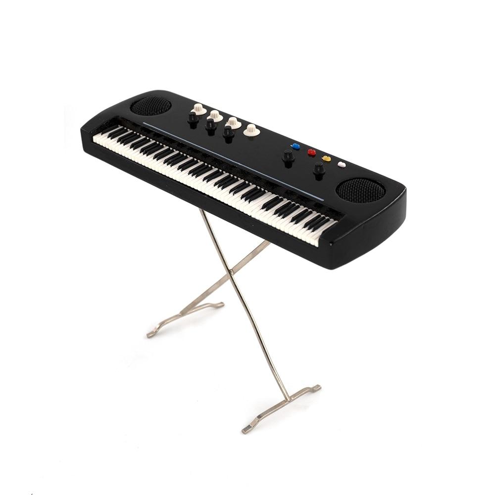 Miniatur Keyboard elektronische Orgel Mini Musikinstrument Dekoration