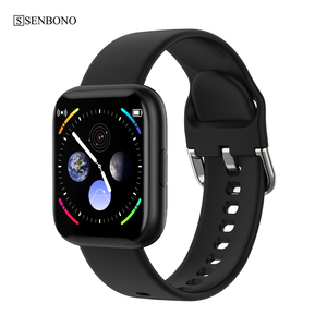 Image 2 - SENBONO w pełni dotykowy P6 pasek do smarwatcha mężczyźni kobiety zegarek sportowy pulsometr snu inteligentny zegarek do monitorowania tracker na telefon
