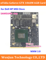 new Dell Alienware HP MSI Inch Laptop nVidia GeForce GTX1060M GTX 1060M MXM 6GB GDDR5 Graphics Card Video Card board N17E G1 A1