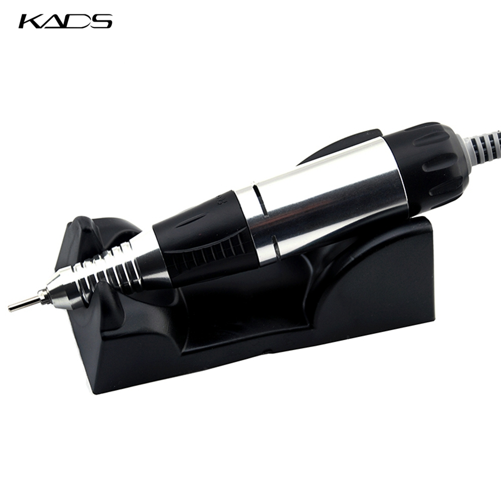 Image 5 - KADS 30000RPM Black nail art drill Nail Equipment Manicure Tools Pedicure Acrylics Grey Electric Nail Art Drill Pen Machine Set-in Electric Manicure Drills from Beauty & Health