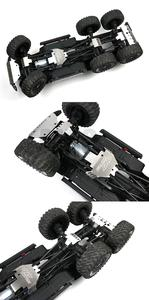 Image 3 - RC רכב מתכת trx 6 G63 פגוש מארז שריון הגנת לוח החלקה עבור Traxxass TRX 4 G500 88096 4 אפשרות שדרוג