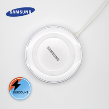 original Samsung 5V/2A wireless charger QI pad  For Galaxy S7 S6 S8 S9 S10 Plus iPhone X XR XS/8 mi 9 Original charging adapter