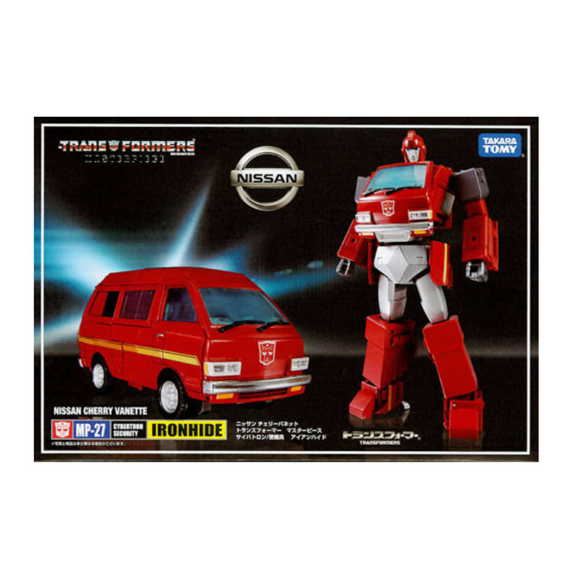 TAKARA TOMY Transformers Robots Master Piece MP-27 Ironhide Master Level Action Figure Deformable Collection Toys